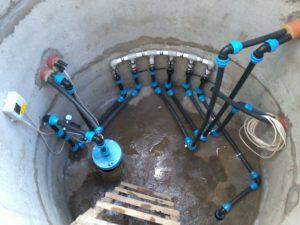 Обустройство скважины с кессоном под ключ