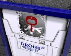 Как отрегулировать скорость смыва в инсталляции Grohe